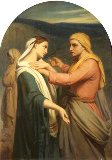 Ruth and Naomi by Ary Scheffer - 1856