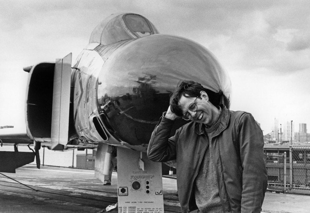 Fred on the Intrepid , 1983