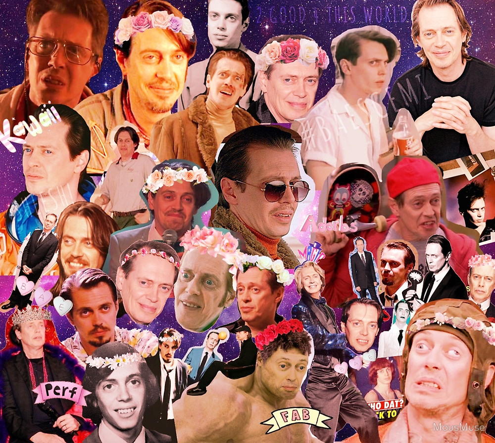 Steve Buscemi Collage For Sale  HERE