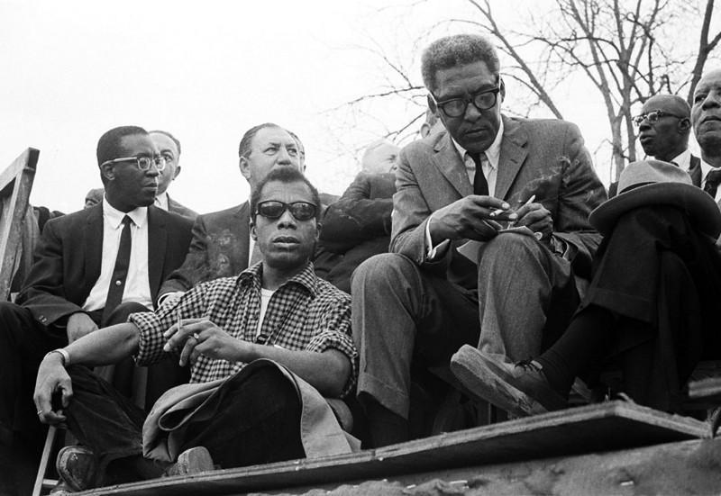 James Baldwin and Bayard Rustin