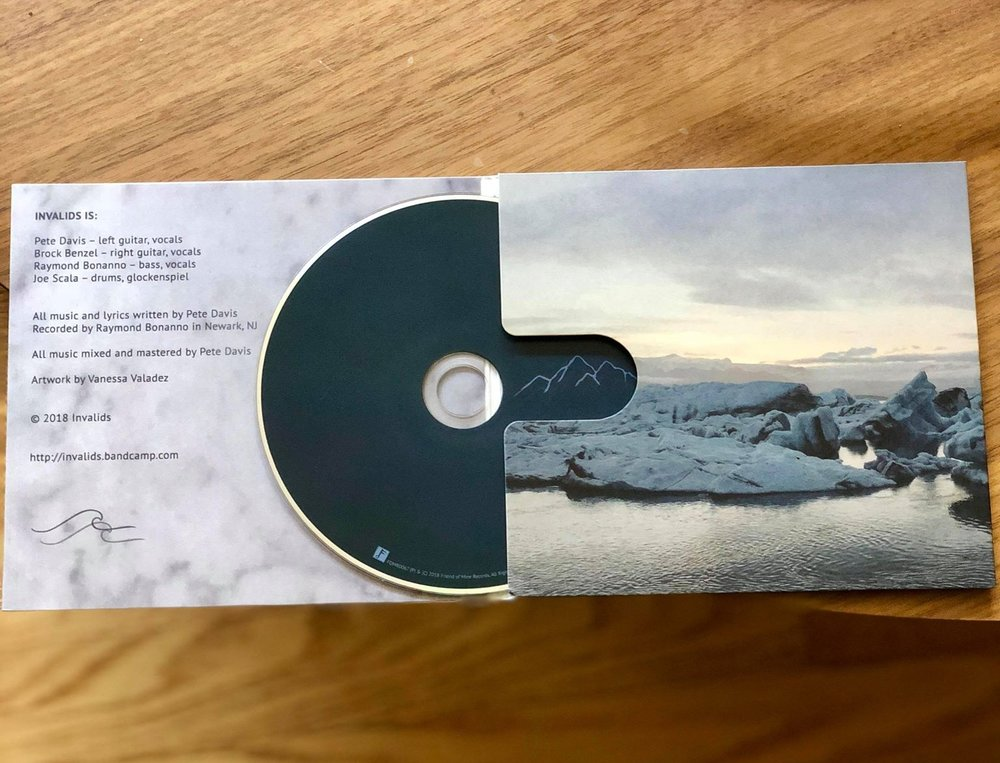 CD Inside Spread