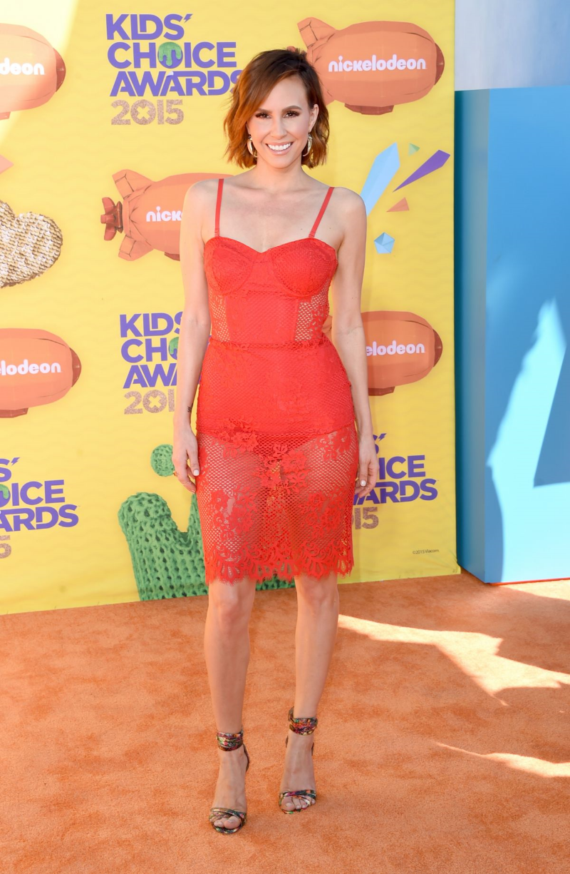 keltie knight Kids choice awards