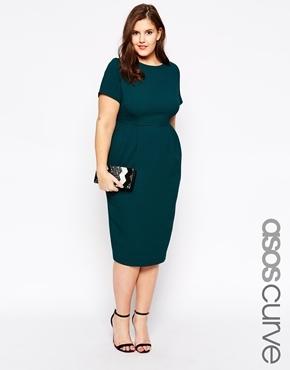 ASOS Green Curve Dress