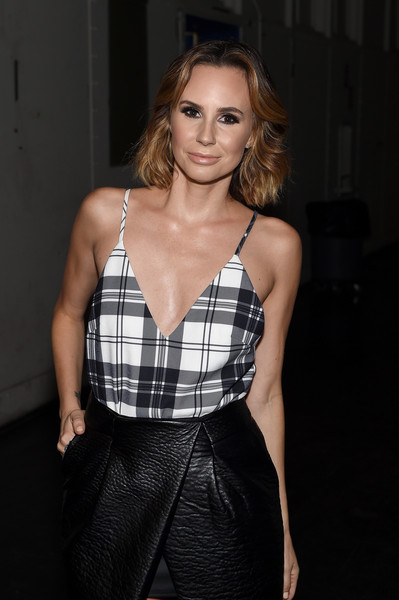 Keltie Knight Fashion Week 2015