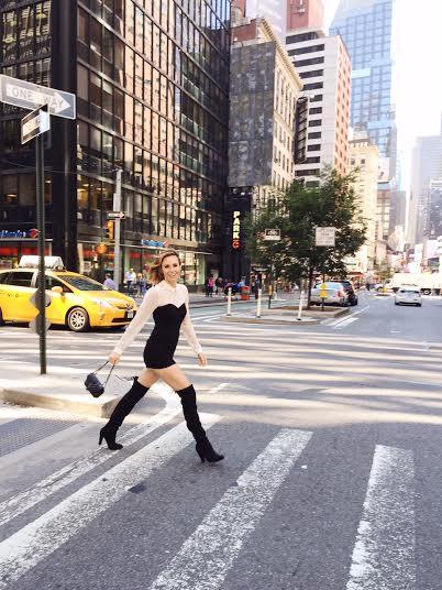 Keltie Knight NYC STREETSTYLE