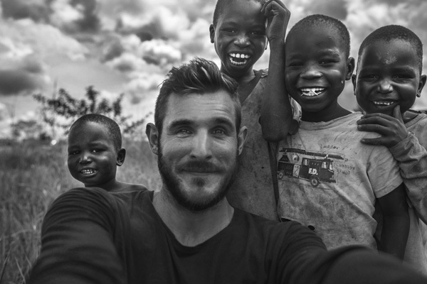 Making friends in Northern Uganda