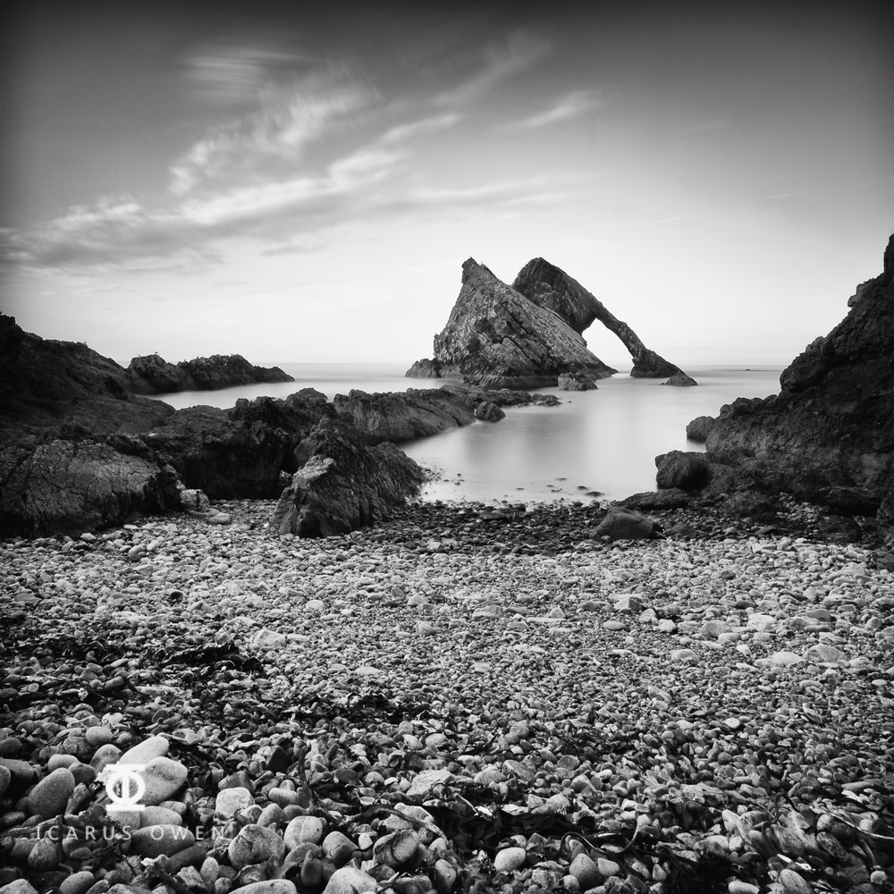 Image of Bow Fiddle Rock, Scotland