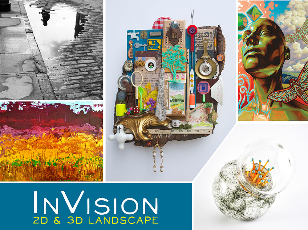 "The Davis Art Gallery invites you to the opening reception for InVision: 2D & 3D Landscape     Explore the meaning of ""Landscape"" as more than 80 artists present diverse interpretations of physical, spiritual, cultural, and ecological vistas. Painting, photography, sculpture, drawing, and mixed media will be on display.     Opening    September 10, 2015    5:00-7:00pm    THE DAVIS ART GALLERY    Printers Building, 44 Portland Street, 3rd Floor  Worcester, MA 01608"
