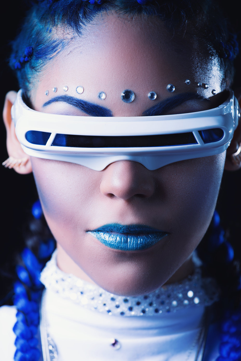 Blue Concept Inspired by Cyclops- Chamber Photography Moments by Antoine Hart X Men