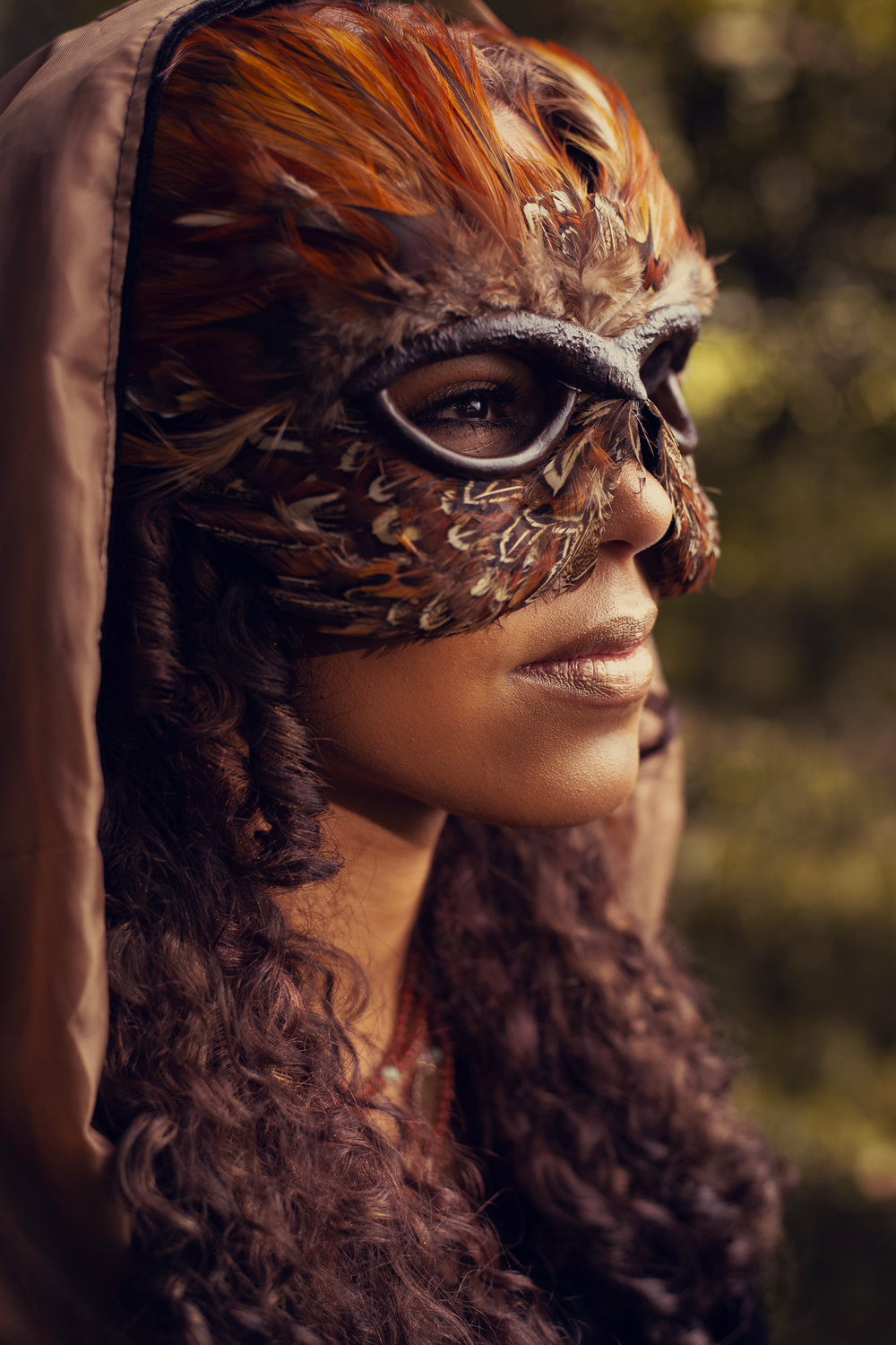 Masked Feathers of Autumn - Chamber Photography Moments by Antoine Hart