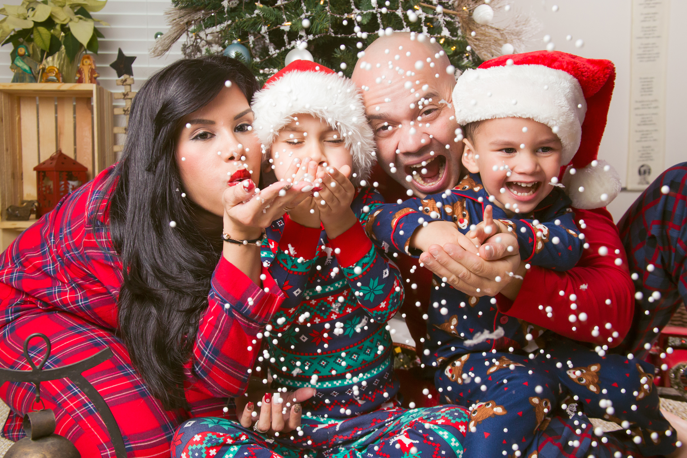 Christmas Family Portraits.Christmas Family Portrait Chamber Photography Moments