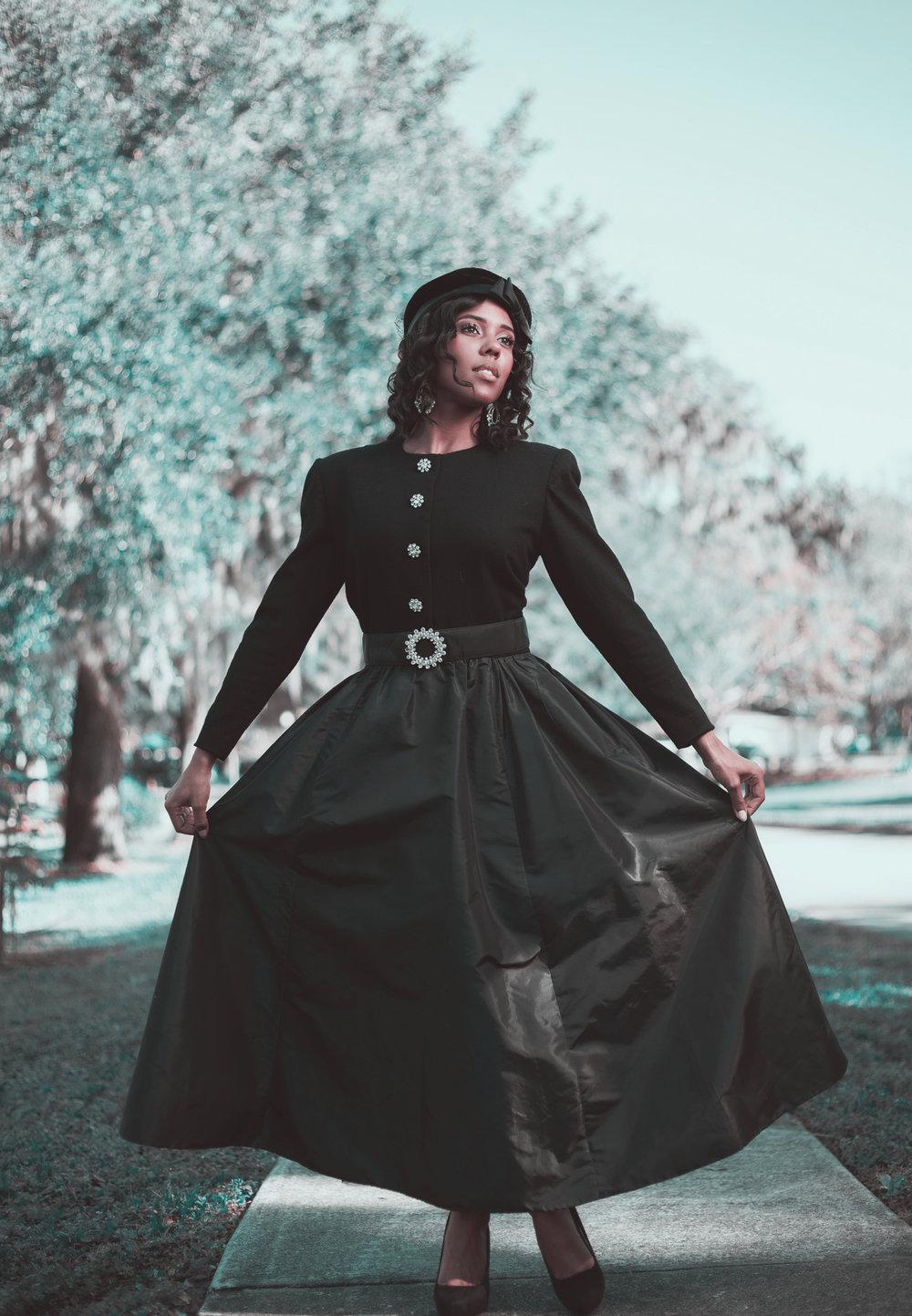Vintage Wonders: Dress by Victor Costa
