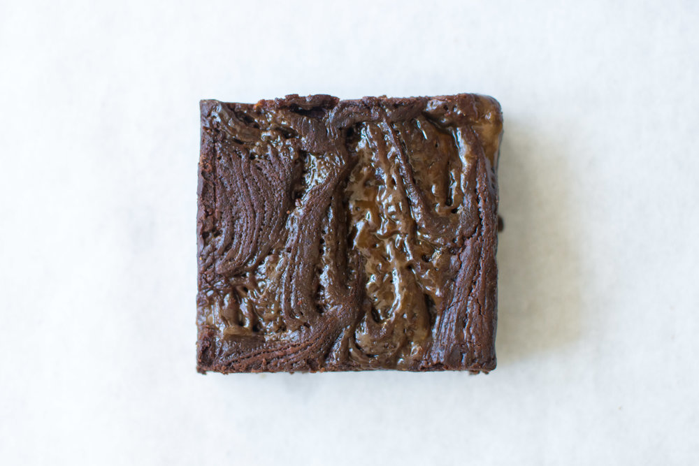 Ovenly Salted Caramel Brownie