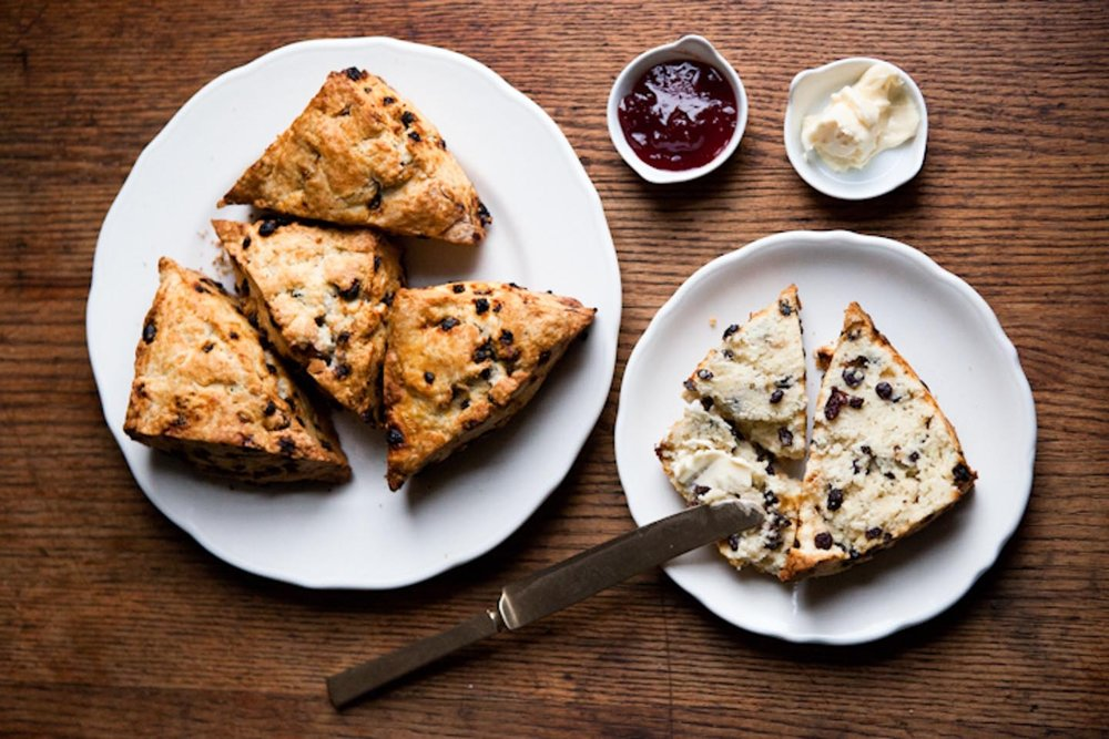 Currant-Rosemary Scone, Photo by Winona Barton-Ballentine
