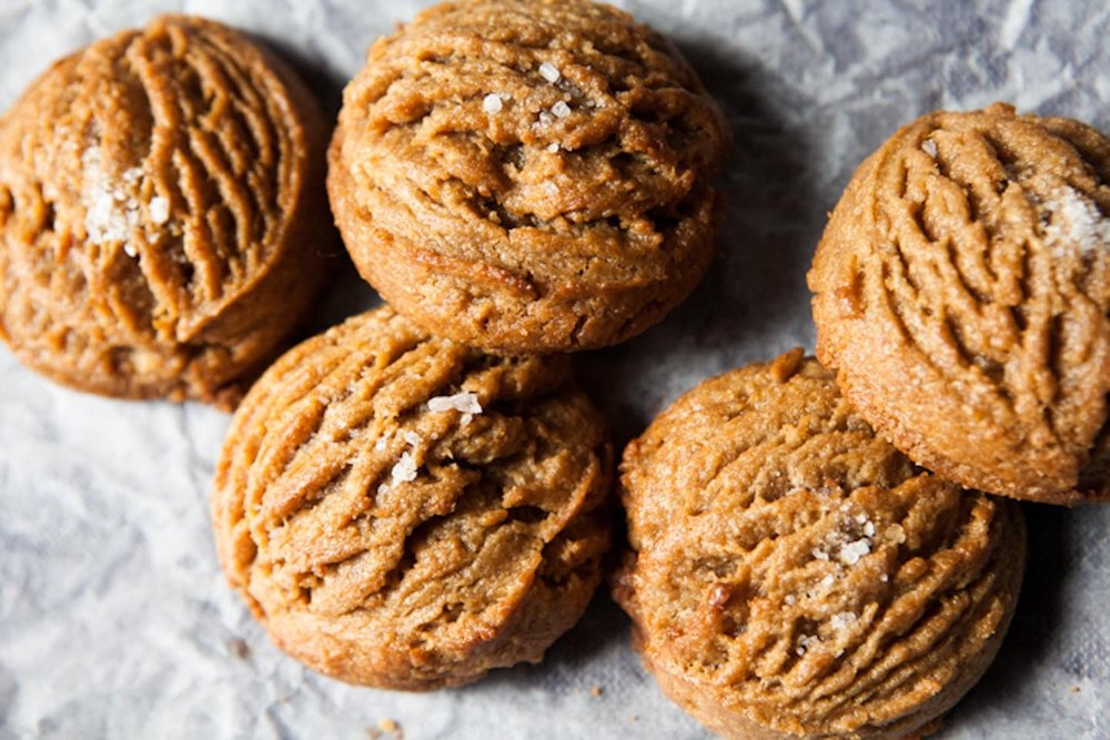 Salted Peanut Butter Cookies, Photo by Winona Barton-Ballentine