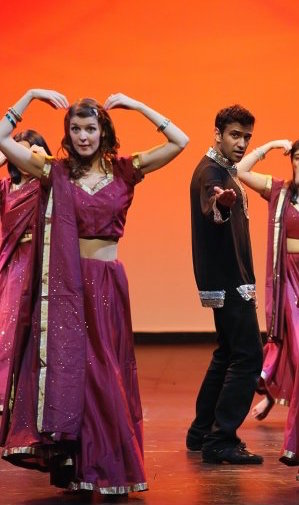 Bollywood dancing at the Schimmel Center for the Arts in NYC