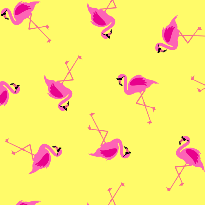 Shady Flamingoes