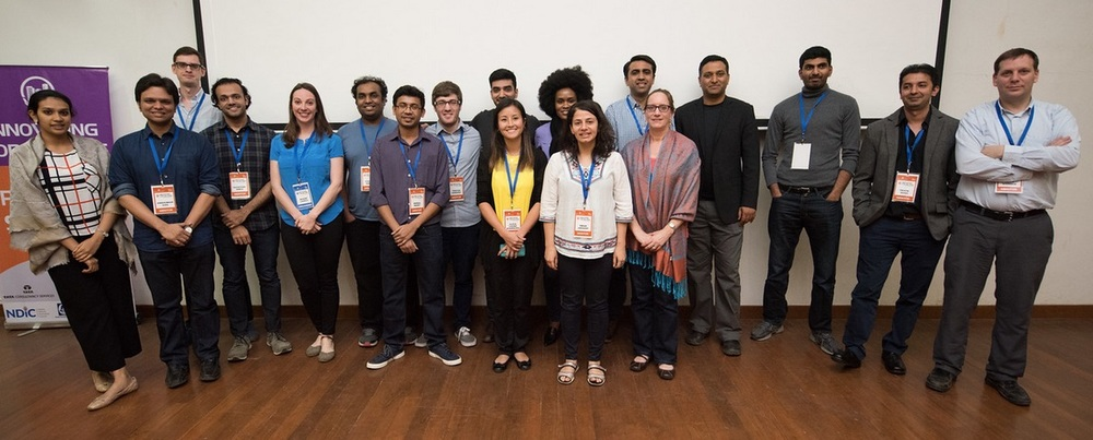 MIT Media Lab team, Nashik, January 2016