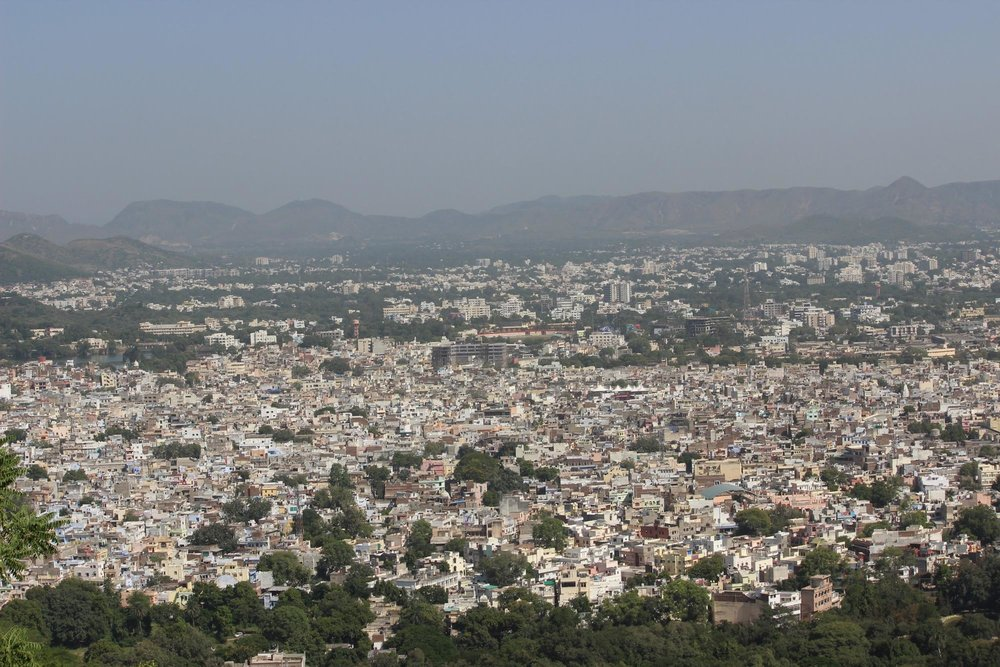 Figure 1: Every place deserves an address. Seen here is the city of Jaipur in India. Photo Credit: Debabrata Majumdar