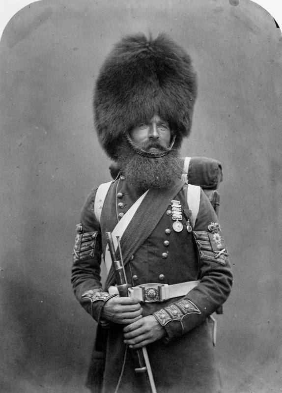 British soldier, ca. 1856