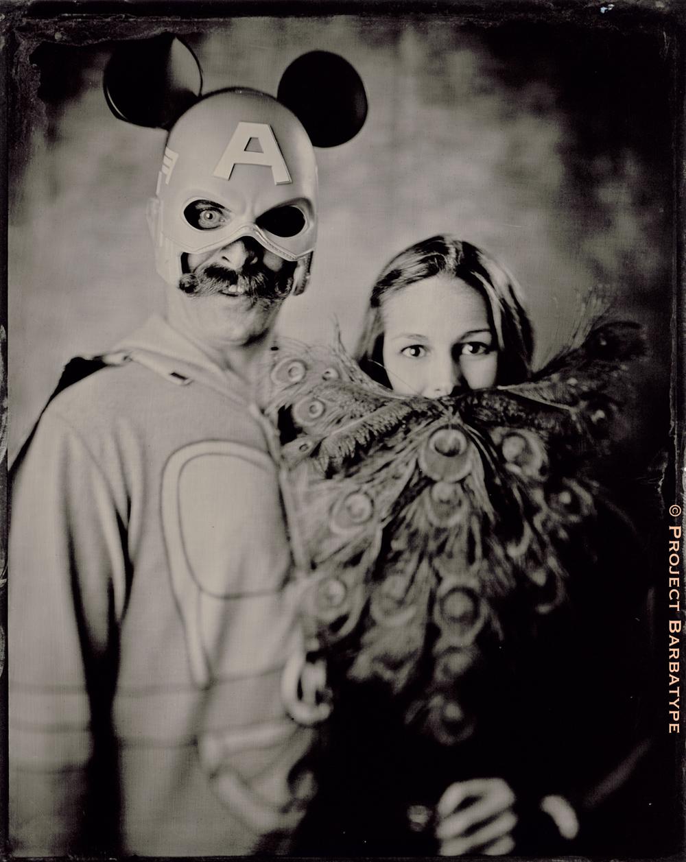 Kyle Bauer and Cassie Kinard