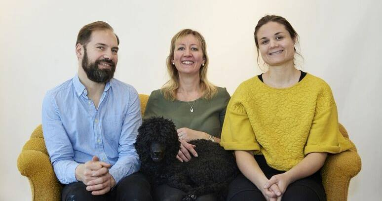 Fredrik Karlsson, Linda Krondahl & Paulina Modlitba Söderlund.