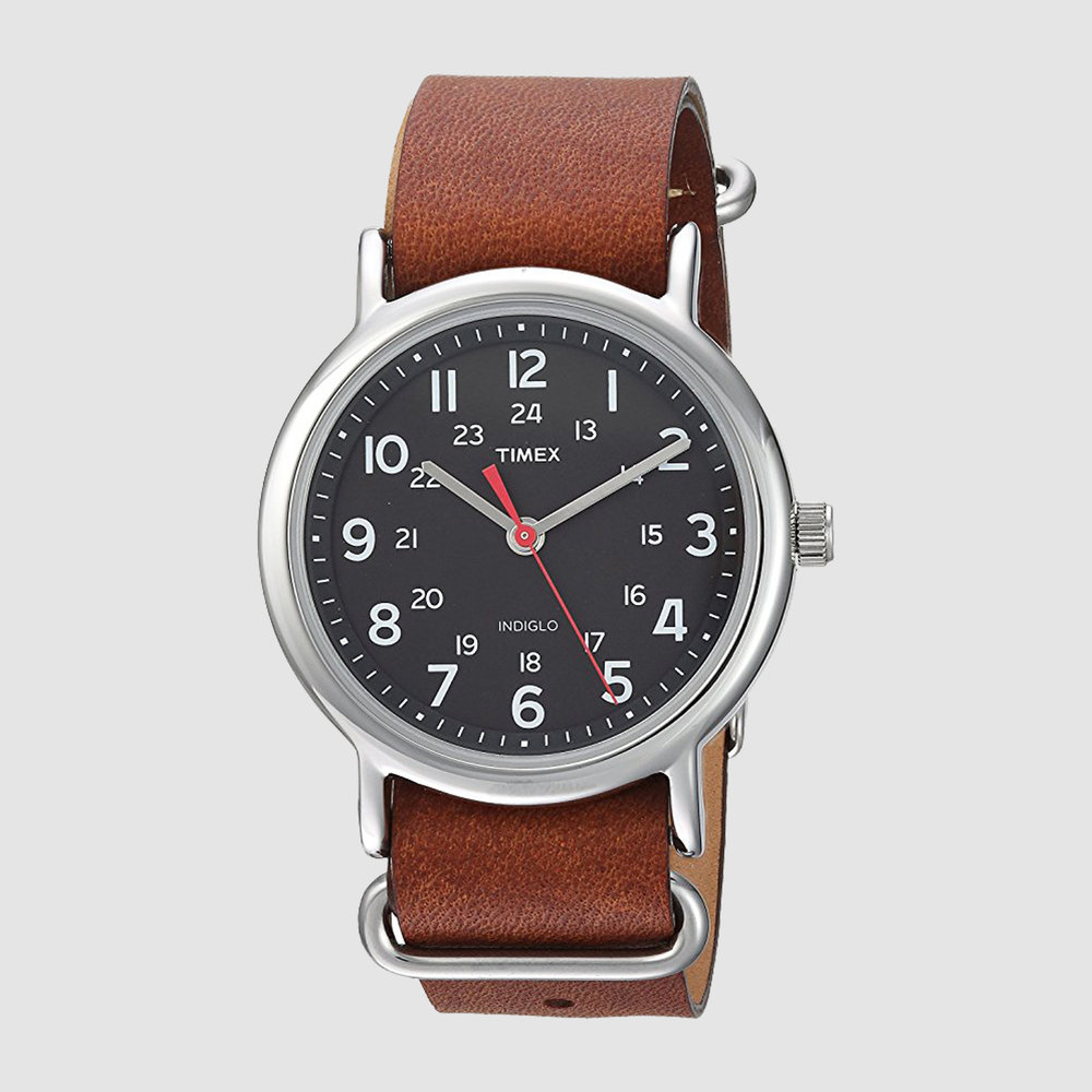 Timex Weekender 38mm Watch, $32 Amazon