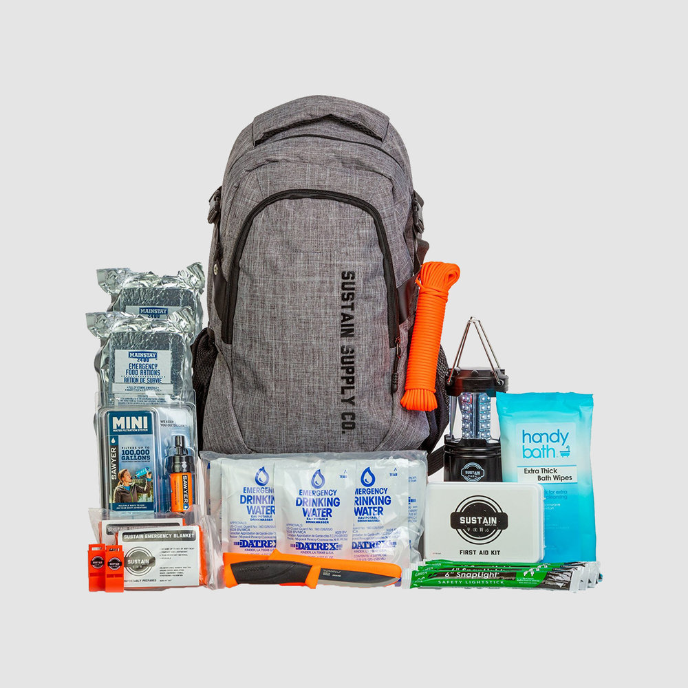 Sustain Supply Co. Essential Survival Kit | $89 | Amazon