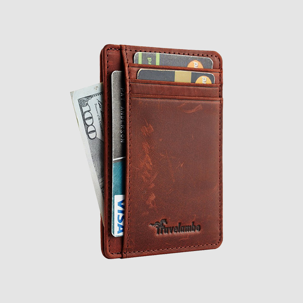 Travelambo Front Pocket Slim Wallet | $8-14 | Amazon