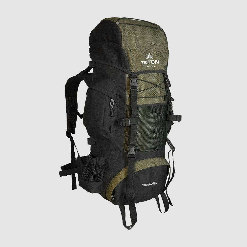 Teton Sports Scout 3400 Internal Frame Backpack | $55-$60 | Amazon