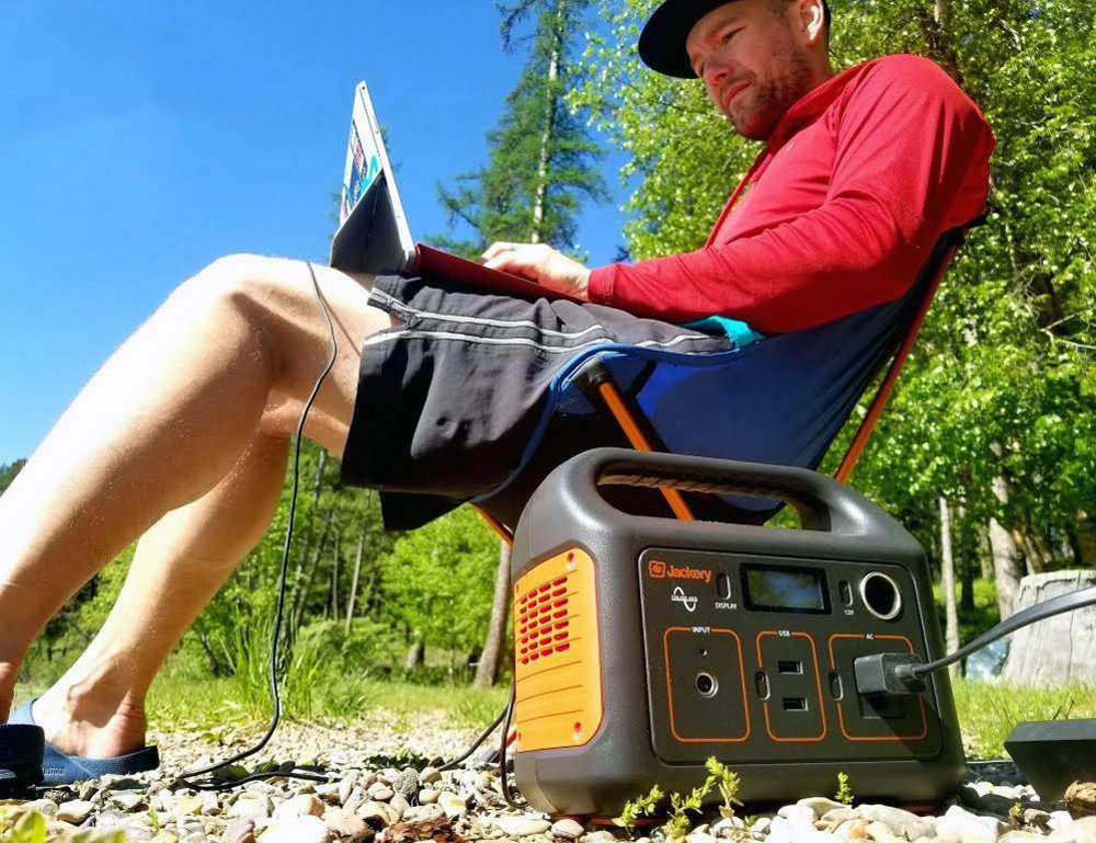 Jackery Portable Power Station | $300 | Amazon