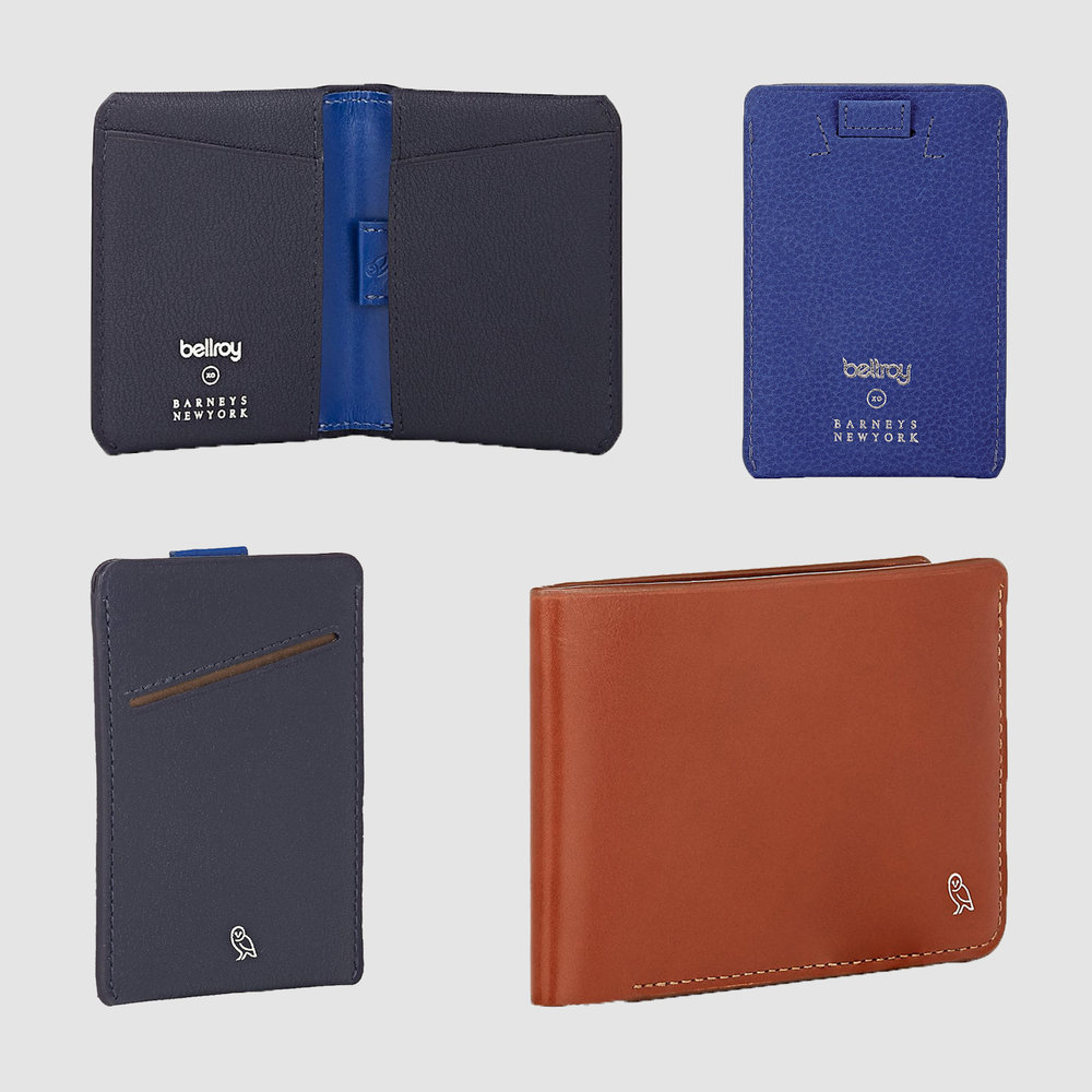 Bellroy XO Barneys New York Wallets | $39-$99 | Barneys New York