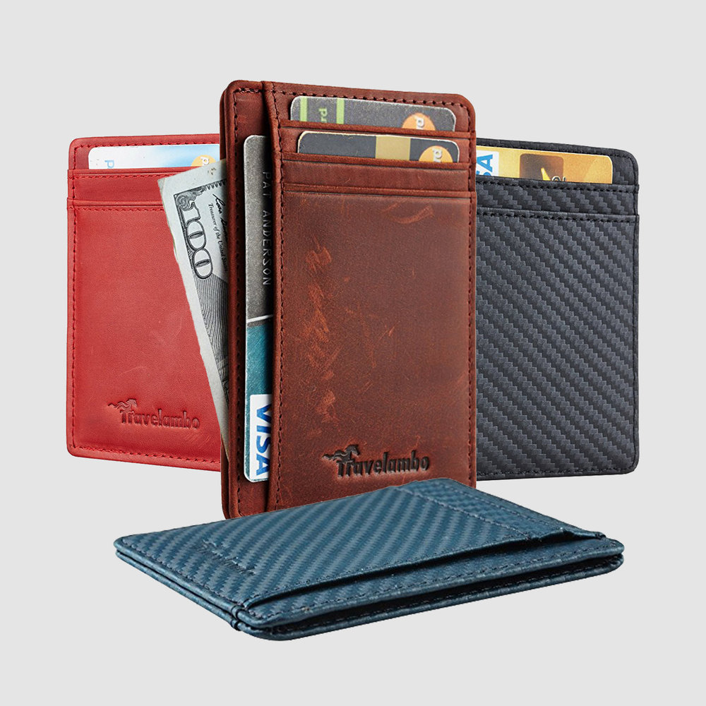 Travelambo Front Pocket Minimalist Wallet | $8-$10 | Amazon