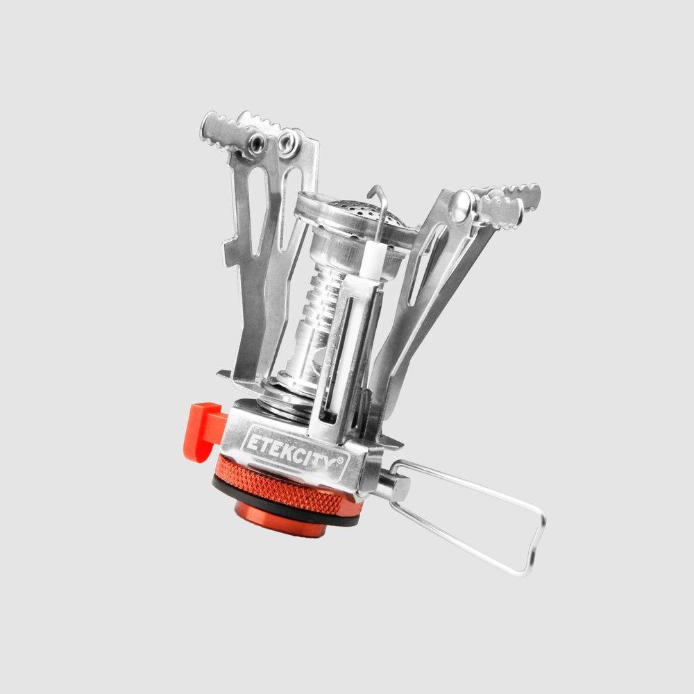 ETEKCITY Ultralight Backpacking Stove | $11 | Amazon