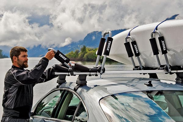 Thule Hull-a-port Rooftop Kayak Carrier | $142 | Amazon