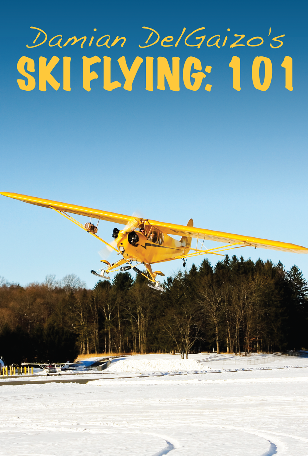 Ski Flying: 101 - Damian DelGaizo's Ski Flying: 101 takes the tailwheel lover for a subzero spin.  Winter operations are a whole lot more fun in a classic J3 on skis.  Ground and in-flight lessons help you learn the techniques necessary to become proficient in ski flying.  Damian also shares several of his ski flying tips and tricks to help keep your winter flying fun and safe.on skis.  Ground and in-flight lessons help you learn the techniques necessary to become proficient in ski flying.  Damian also shares several of his ski flying tips and tricks to help keep your winter flying fun and safe.