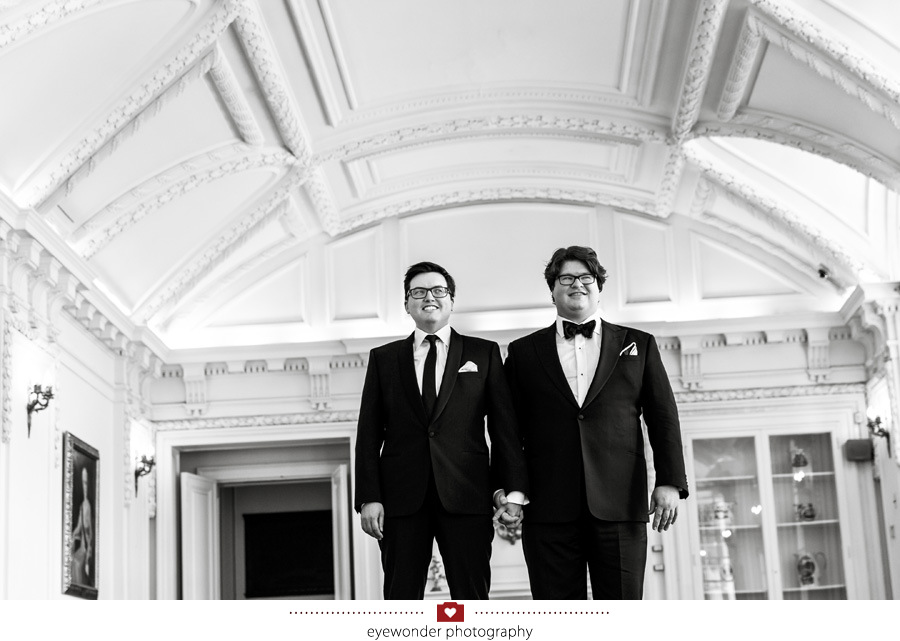 James and Brads elegant Spring wedding at the DAR in Washington, DC_10