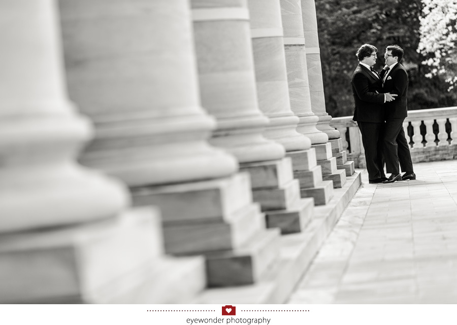 James and Brads elegant Spring wedding at the DAR in Washington, DC_16