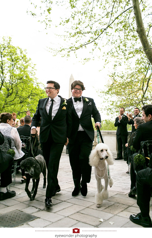 James and Brads elegant Spring wedding at the DAR in Washington, DC_26
