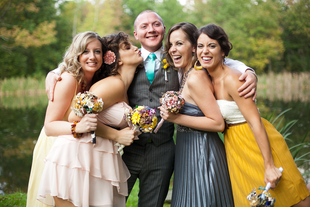 Thorpewood wedding bridal party