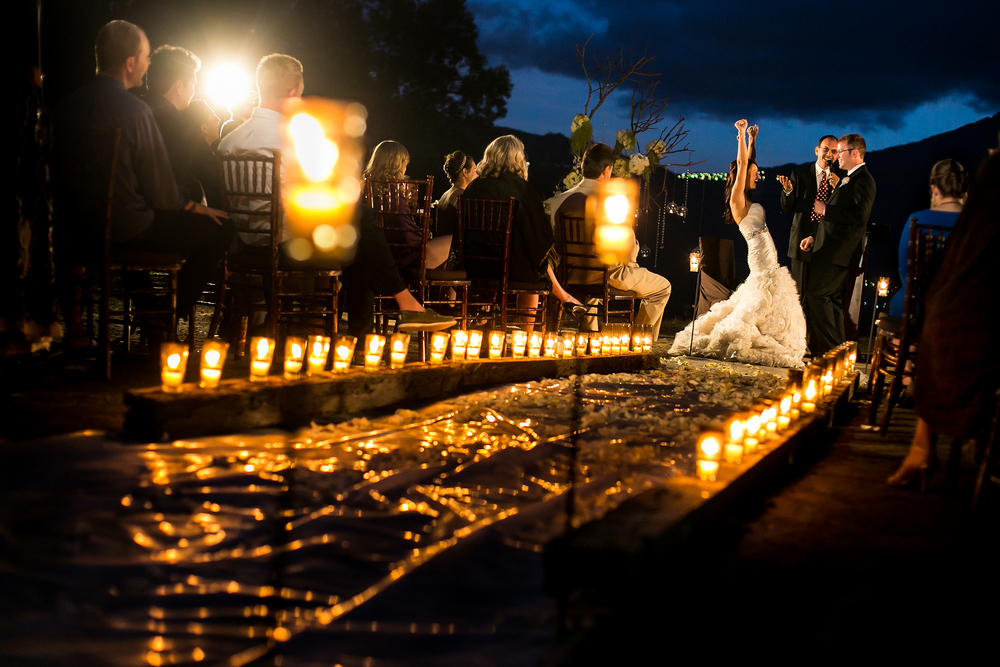 Antigua Guatemala wedding ceremony