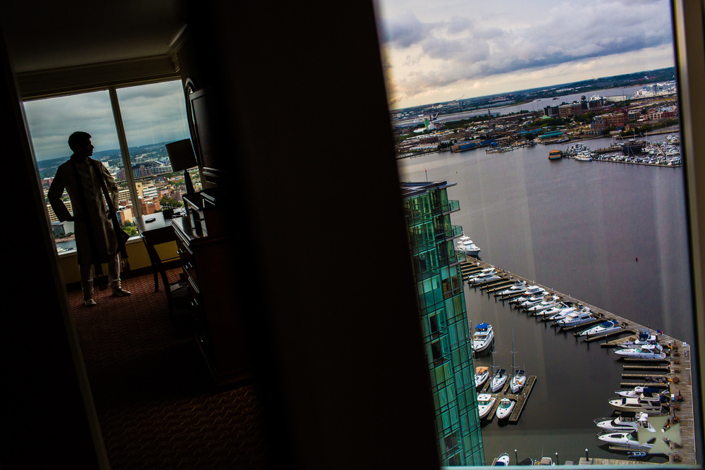 Baltimore Marriott Waterfront wedding