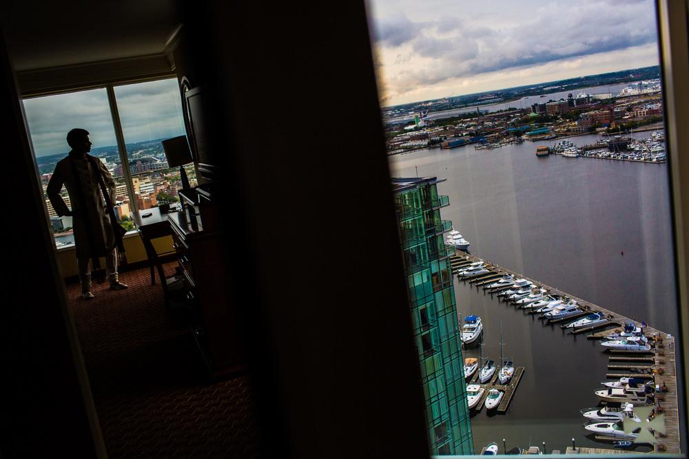 Baltimore Marriott Waterfront wedding