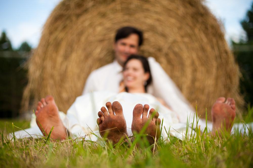 round barn farm wedding