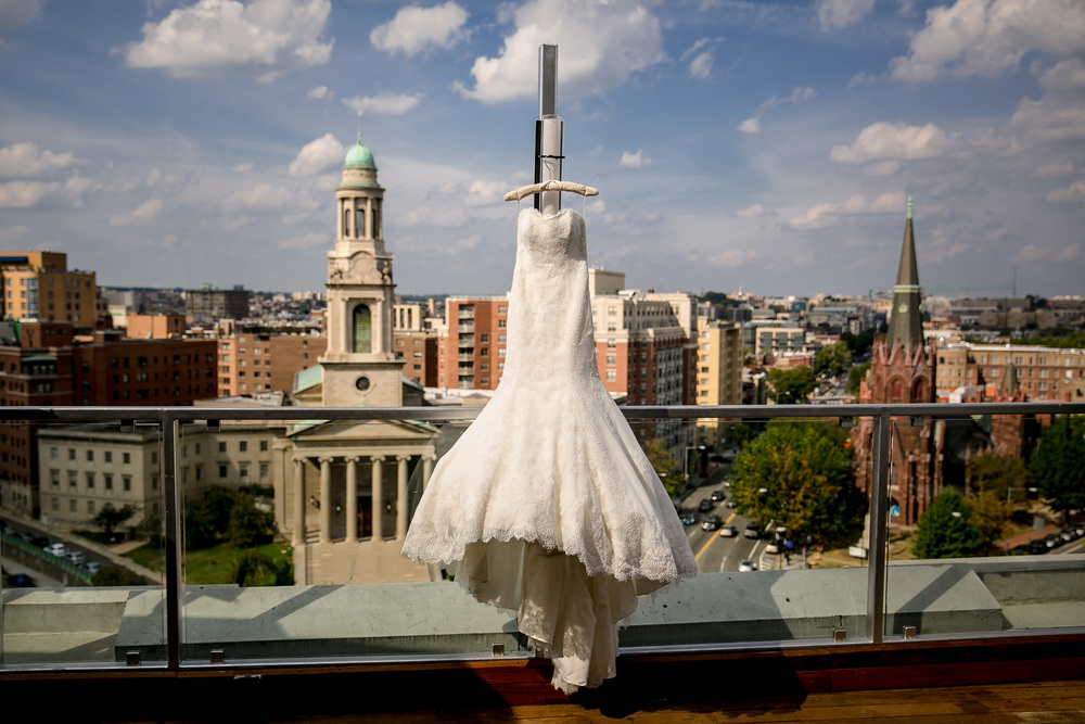 Donovan House wedding dress