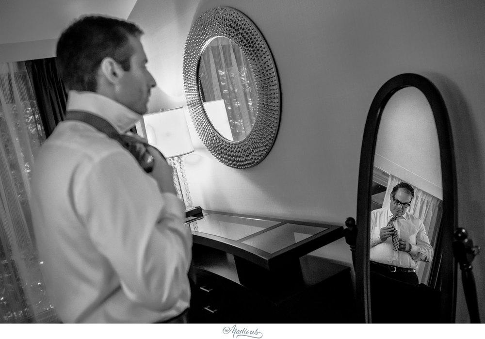 Cylburn Arboretum wedding photojournalism groom