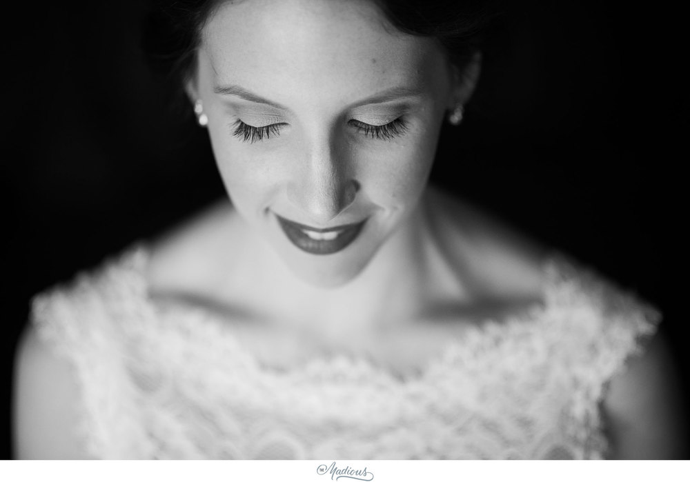 Cylburn Arboretum wedding photojournalism bride portrait