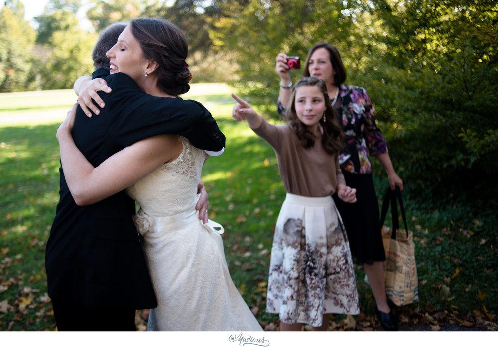 Cylburn Arboretum wedding photojournalism