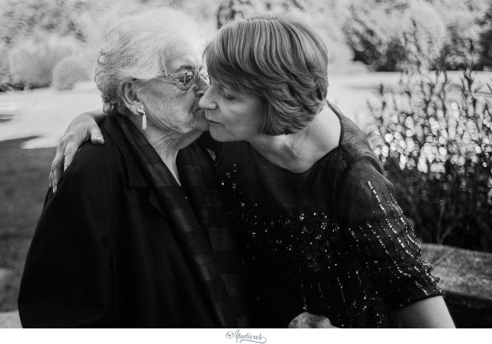 Cylburn Arboretum wedding photojournalism grandmother