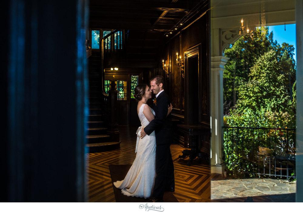 Cylburn Arboretum wedding photojournalism portraits